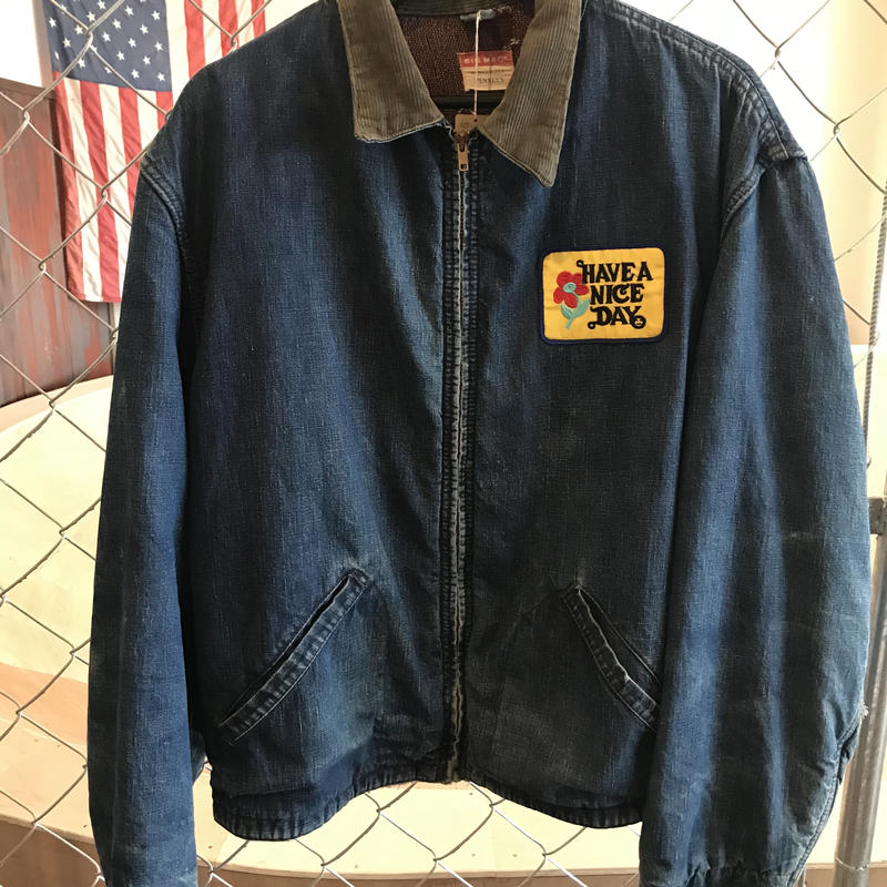 60sBIG MAC denim work Jacket(USED)