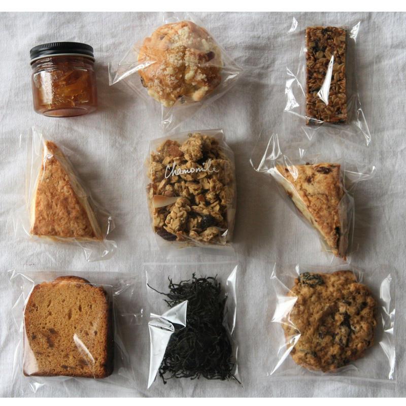 7月のお届け便<季節のお菓子のセット>
