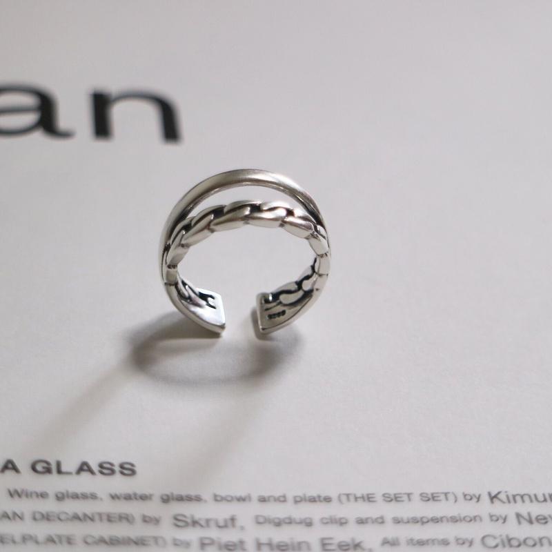 【ゆうパケ対象】silver925 chain ring