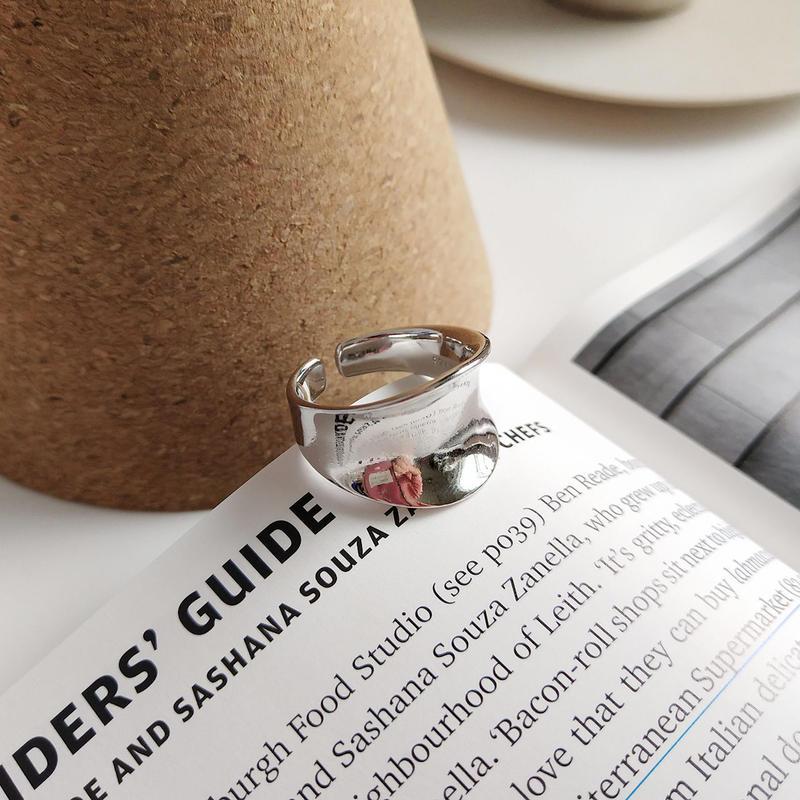 【ゆうパケ対象】silver925  wide ring