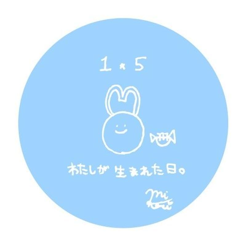MIKARI 生誕祭記念缶バッジ