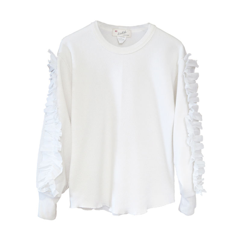 Kidole. Thermal Frill Top