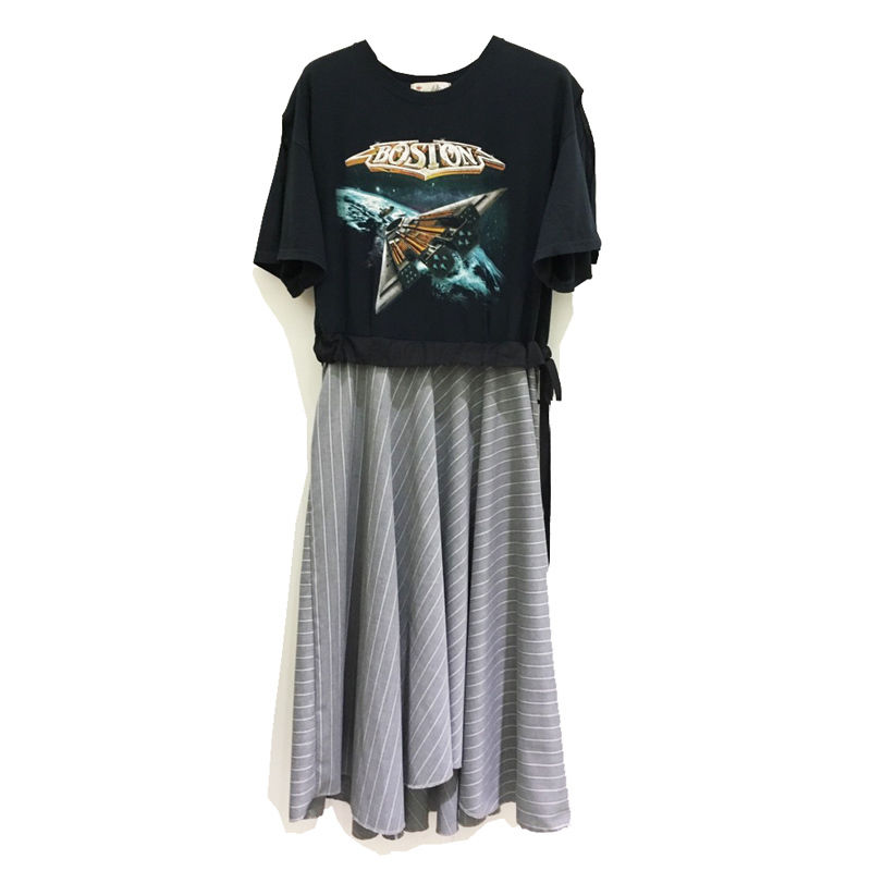 Kidole. TEE-FLAIR DRESS