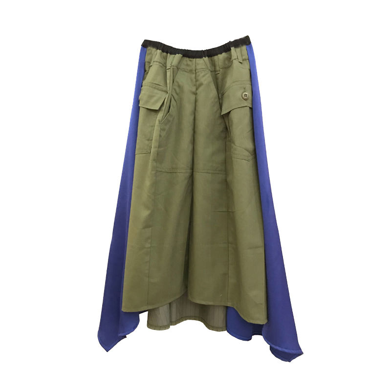 Kidole. MILITARY FLAIR SKIRT