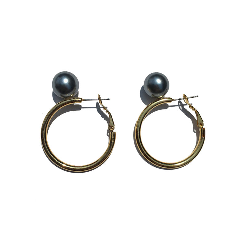 JOHNLAWRENCESULLIVAN  WOMENS PEARL EARRINGS(S)'YOSHiKO CREATiON'
