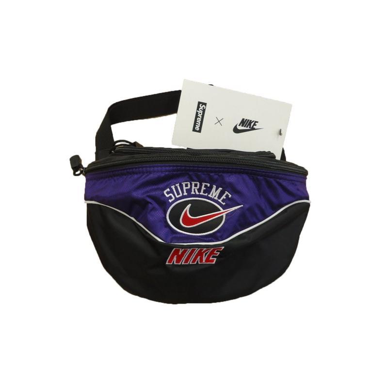 Supreme Nike Shoulder Bag Purple