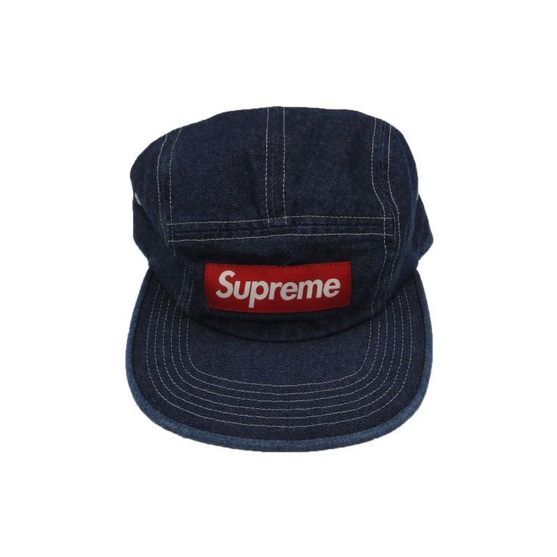 Supreme Washed Chino Twill Camp Cap (SS19) Denim