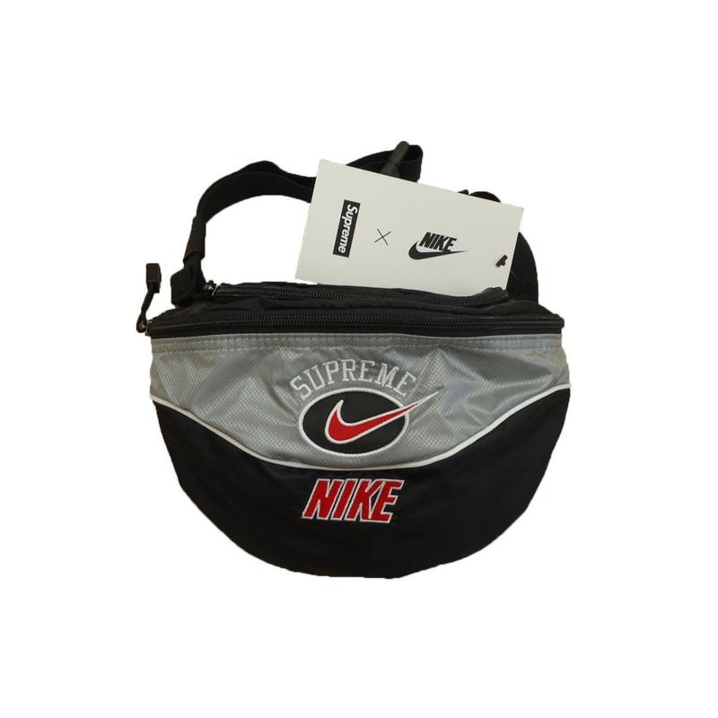 Supreme Nike Shoulder Bag Silver