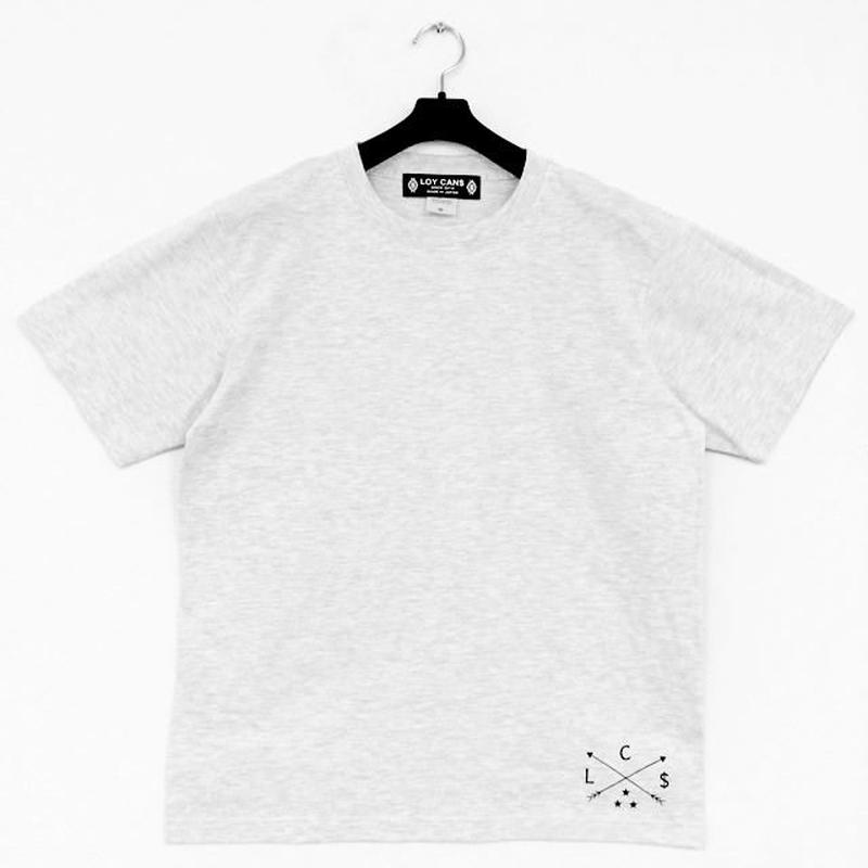Original Logo T-shirt C One-Point  Gray(XXL~3L)