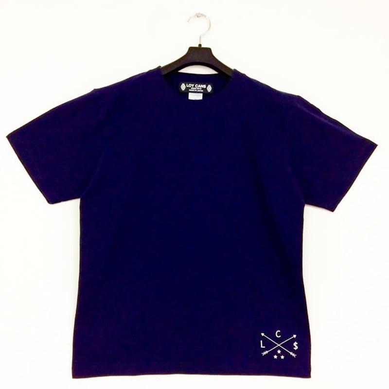 Original Logo T-shirt C One-Point  Navy(S~XL)