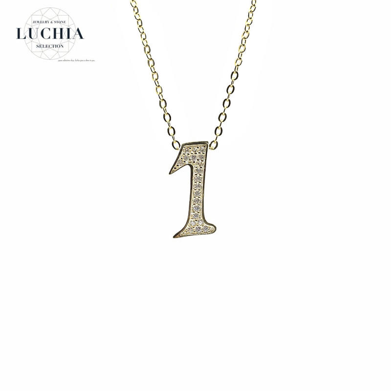 luxury series number necklace  No.1