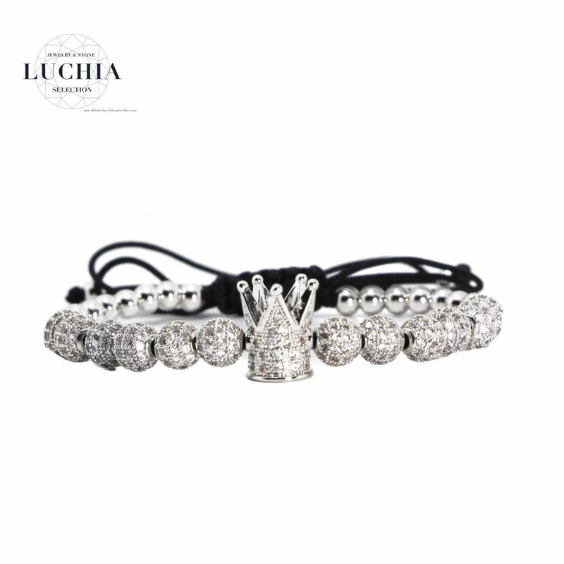Handmade woven bracelet  type 87 silver