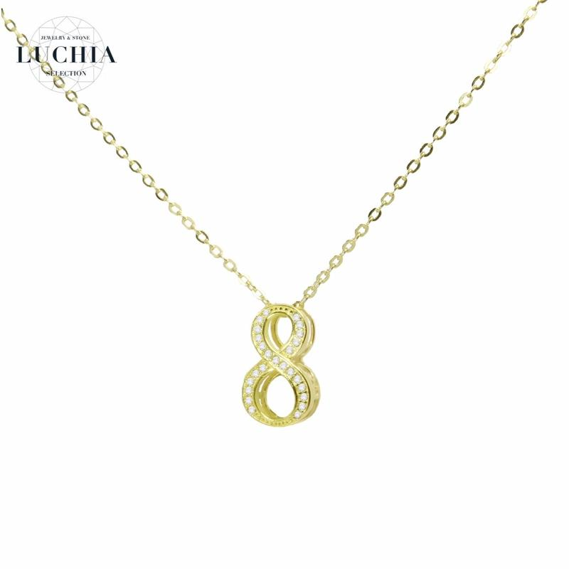 luxury series number necklace  No.8
