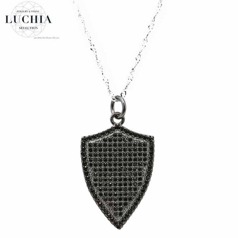 Handmade woven necklace  type 20 black