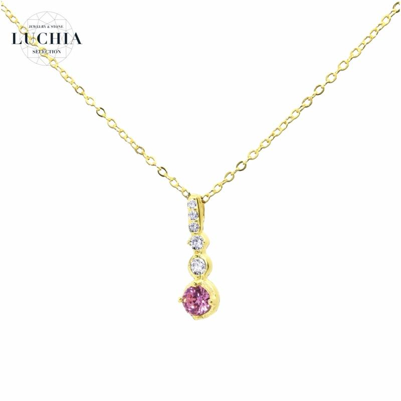 princess series necklace type 1 gold