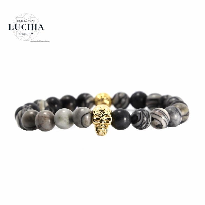 Handmade woven bracelet  type 32 skeleton