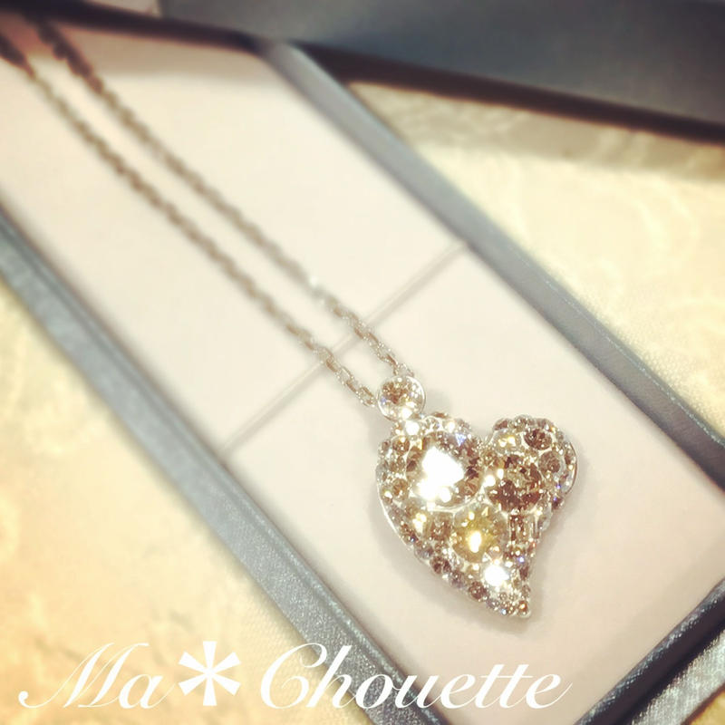Ma*Chouette Bijou ハート♡volume ring とお揃いのネックレストップキット