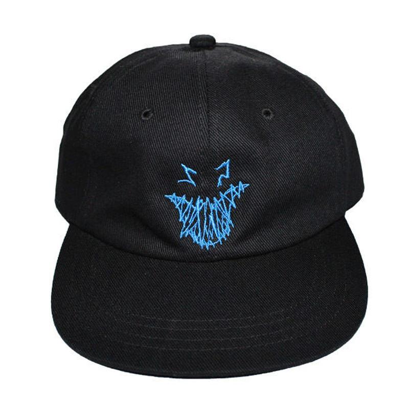 HELLRAZOR【 ヘルレイザー】x Shawn Powers Ghost Face 6panel Cap キャップ 帽子 ブラック