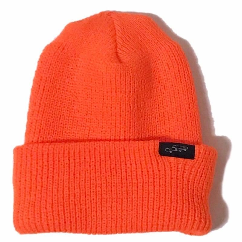 LUCKYWOOD【 ラッキーウッド】overlapskate beanie orange オレンジ ビーニー