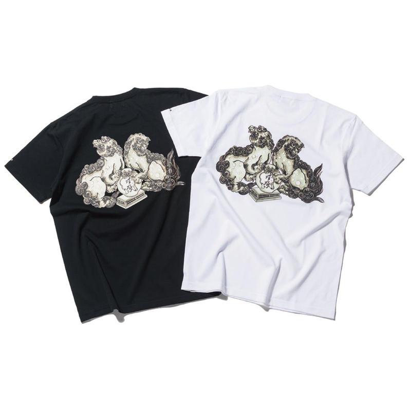 坩堝【 るつぼ】唐獅子 S/S TEE(RUTSUBO×OT) Tシャツ