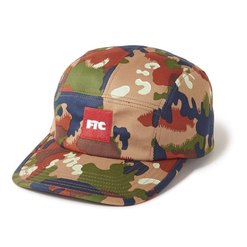 FTC【 エフティーシー】MILITARY CAMP CAP SWISS CAMO キャンプキャップ スイスキャップ