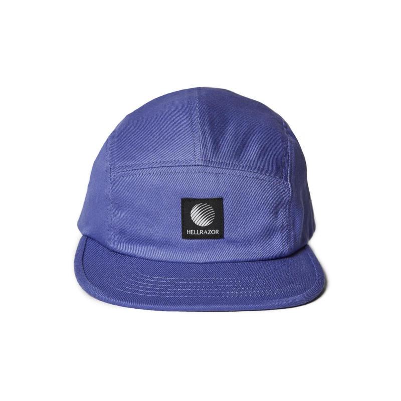 HELLRAZOR【 ヘルレイザー】LOGO PATCH TWILL CAMP CAP PURPLE キャンプキャップ パープル