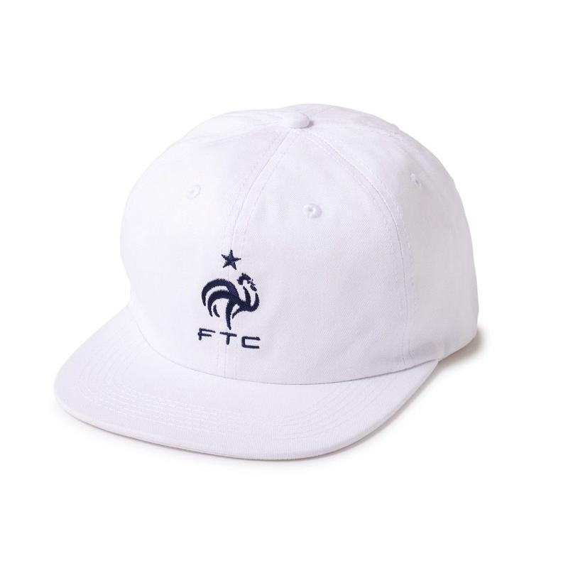 FTC【 エフティーシー】COQ 6 PANEL CAP WHITE キャップ ホワイト