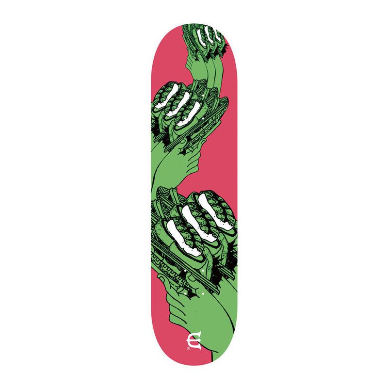 EVISEN【 えびせん】SUSHI COASTER GREEN DECK デッキ 板 8.125インチ