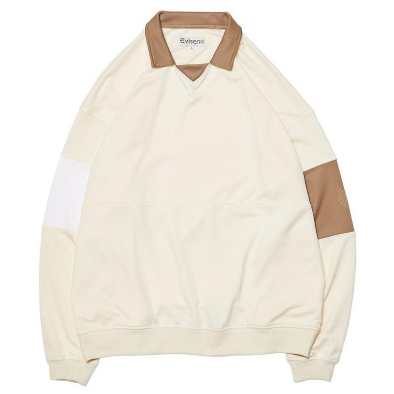 EVISEN【 えびせん】80'S CLUB SHIRT CREAM クラブシャツ クリーム