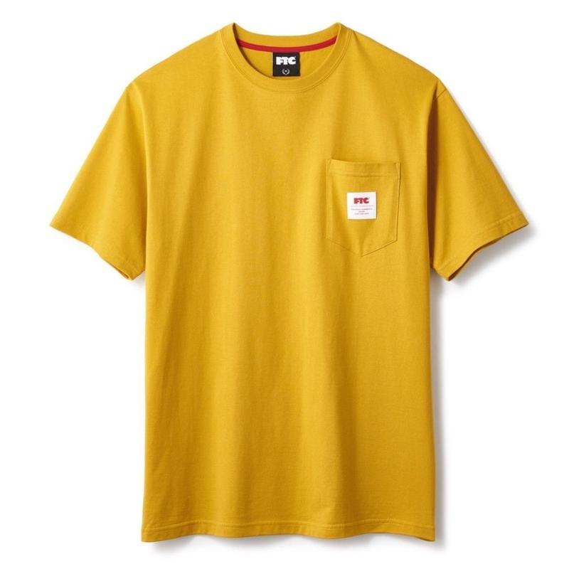 FTC【 エフティーシー】POCKET TEE GOLD ポケット Tシャツ  ゴールド