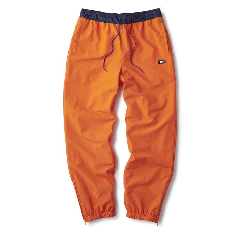 FTC【 エフティーシー】COLOR BLOCKED TRACK PANT ORANGE トラック パンツ オレンジ