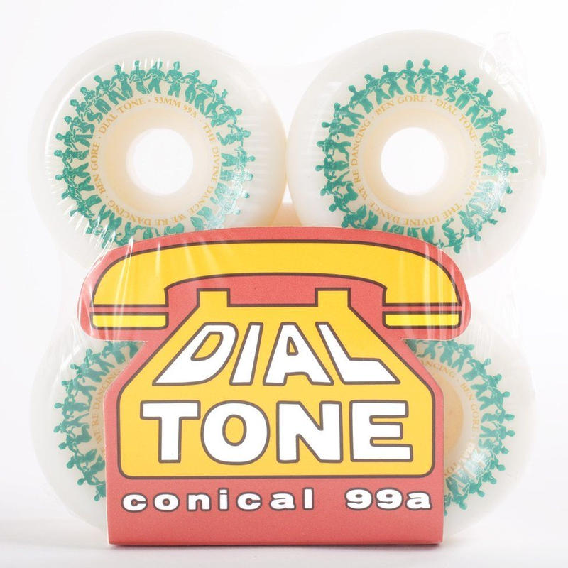 DIAL TONE【 ダイヤルトーン】Dial Tone Wheel Co Ben Gore Divine Dance Conical Wheels 53mm ウィール