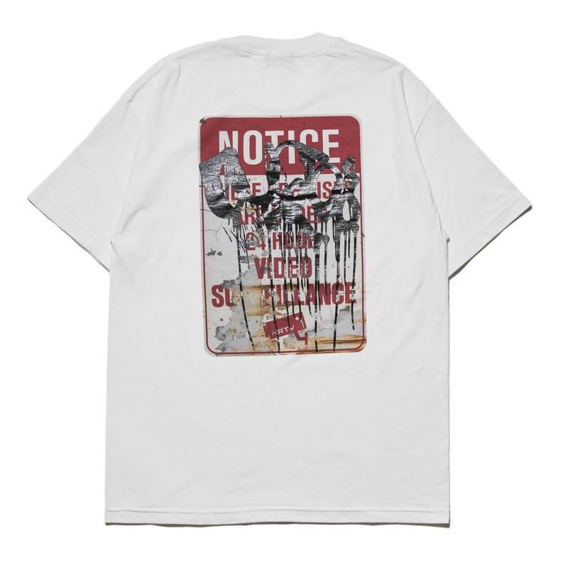 HELLRAZOR【 ヘルレイザー】HELLRAZOR【 ヘルレイザー】 X RUSTO SURVEILLANCE SHIRT WHITE Tシャツ ホワイト