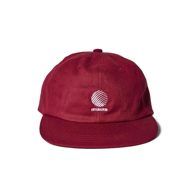 HELLRAZOR【 ヘルレイザー】TRADEMARK LOGO WATCH CAP RED キャップ 帽子 レッド