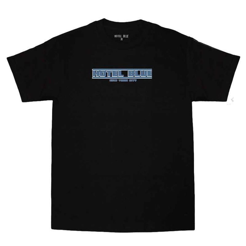 HOTELBLUE【 ホテルブルー】Speed Racer TEE BLACK Tシャツ ブラック