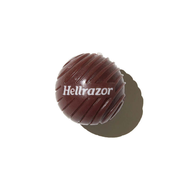 HELLRAZOR【 ヘルレイザー】 3D Logo Candle Wax - Burgundy ワックス ろうそく
