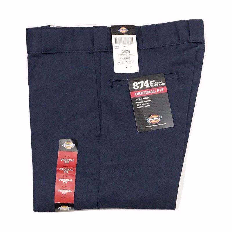 Dickies【 ディッキーズ】874 WORK PANTS DARK NAVY ワークパンツ ダークネイビー