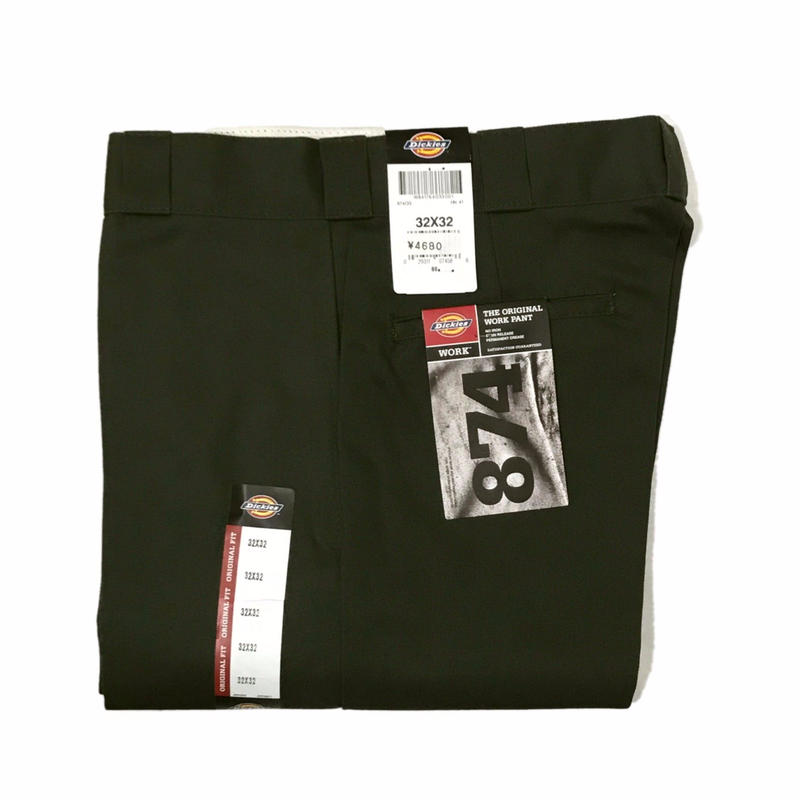 Dickies【 ディッキーズ】874 WORK PANTS OLIVE ワークパンツ オリーブ