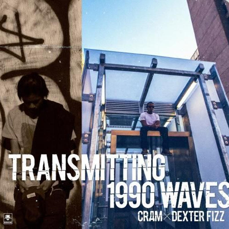 CRAM x DEXTER FIZZ / TRANSMITTING 1990 WAVES (Black Mix Juice/MIX CD)