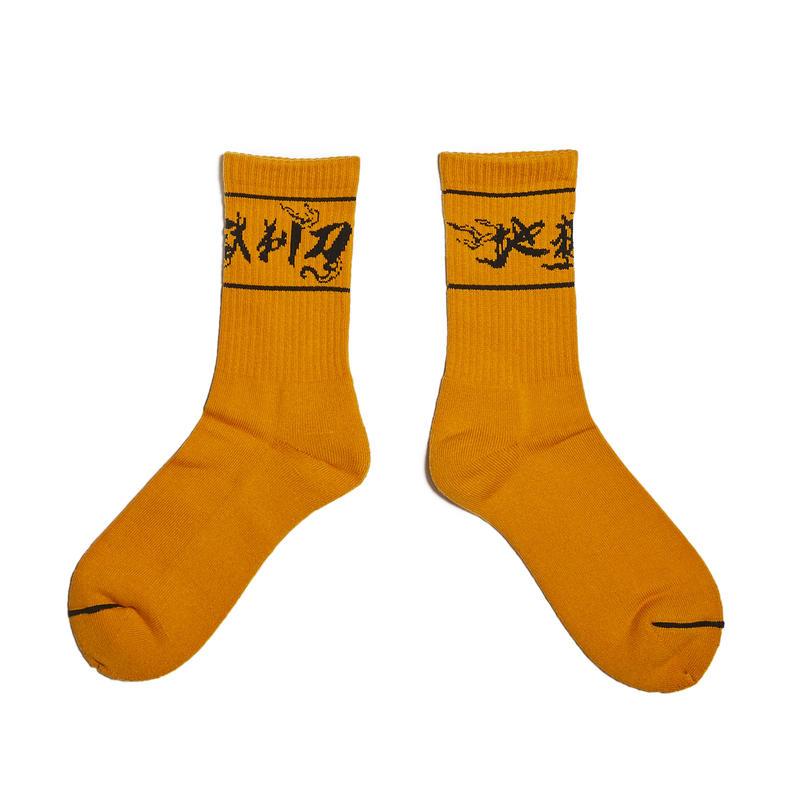 HELLRAZOR【 ヘルレイザー】地獄剃刀 SOX ソックス オレンジ