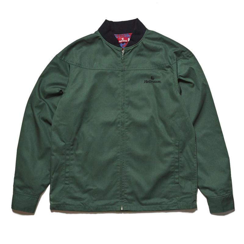 HELLRAZOR【 ヘルレイザー】CORE DERBY JACKET OLIVE ジャケット オリーブ