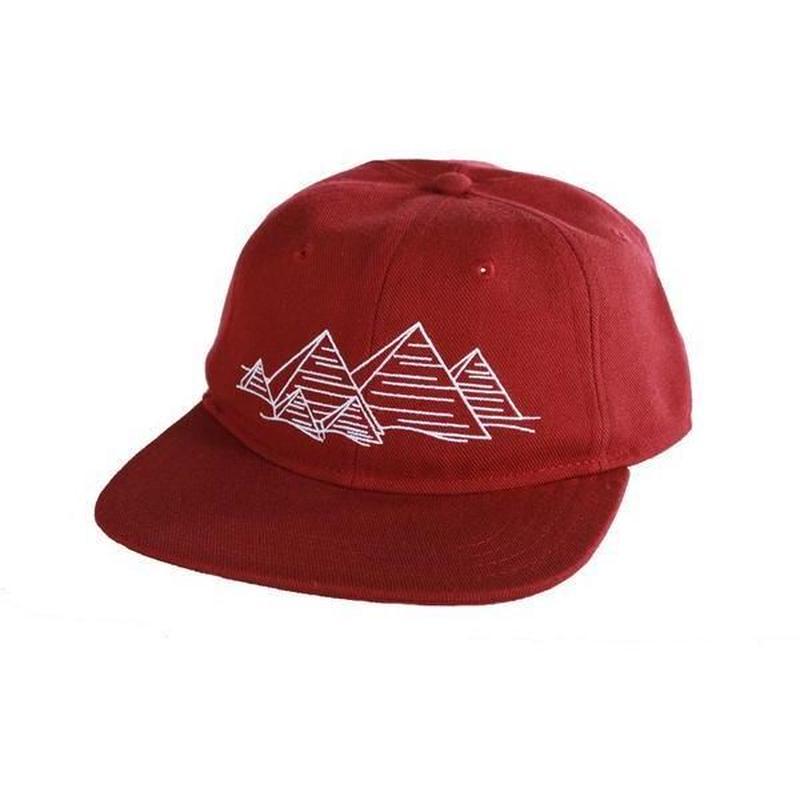 THEORIES【 セオリーズ】Theories Fingerprints Crimson Acrylic Wool Hat キャップ 帽子