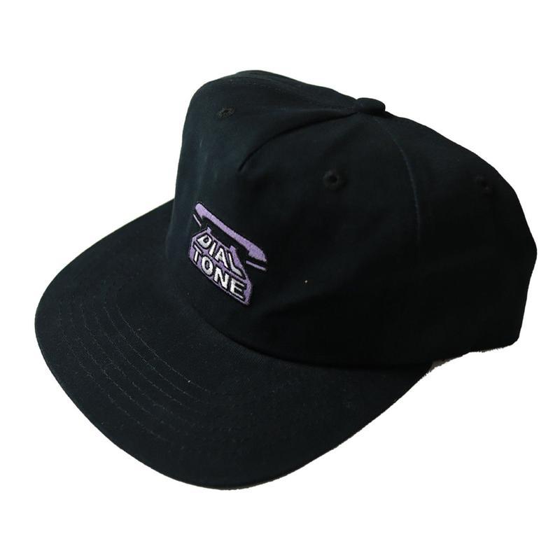 DIAL TONE【 ダイヤルトーン】Dial Tone Wheel Co Dial Strapback STRAPBACK CAP  BLACK  キャップ  ブラック