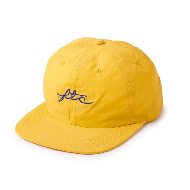 FTC【 エフティーシー】NYLON VIVA LOGO 6 PANEL GOLD キャップ ゴールド