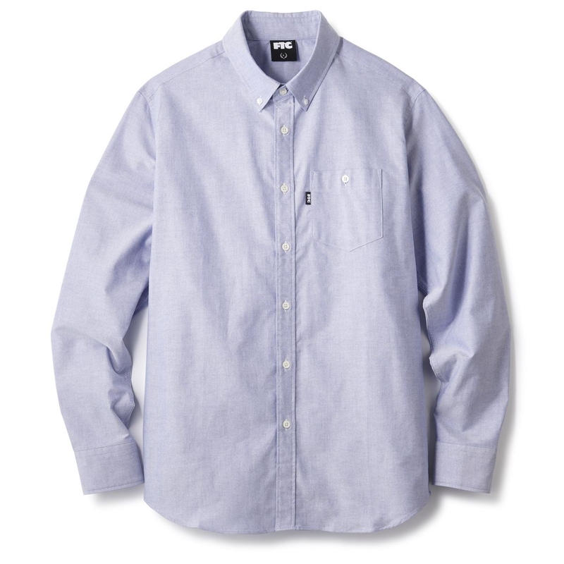 FTC【 エフティーシー】OXFORD B.D SHIRT オックス シャツ ブルー