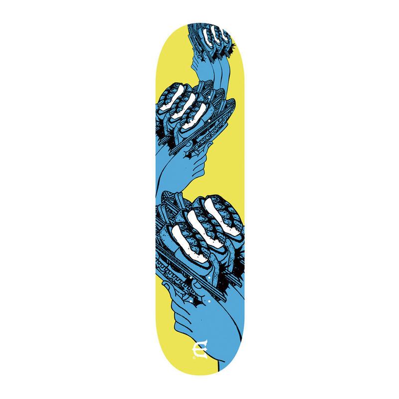 EVISEN【 えびせん】SUSHI COASTER BLUE DECK デッキ 板 8.25インチ