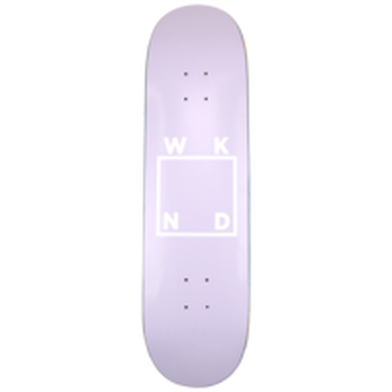 WKND【 ウィークエンド】Lavender Logo Board デッキ 板 77.5インチ
