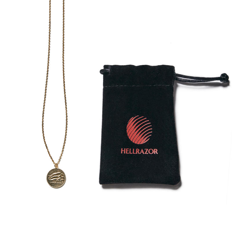 HELLRAZOR【 ヘルレイザー】NEXT DIMENTION GOLD NECKLACE GOLD ネックレス ゴールド