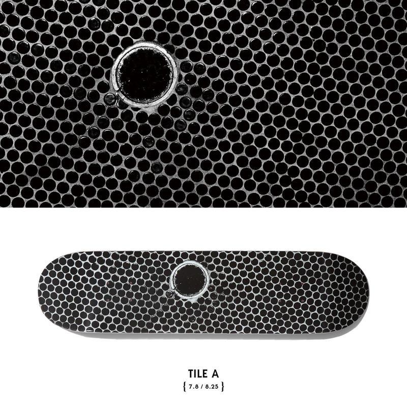 EVISEN【 えびせん】x 森山大道 DAIDO MORIYAMA TILE A DECK デッキ 板  7.8インチ