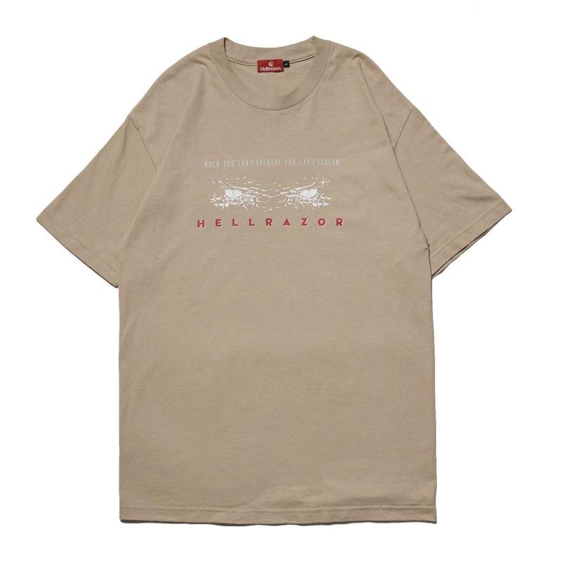 HELLRAZOR【 ヘルレイザー】CAN'T SCREAM SHIRT  Tシャツ サンド